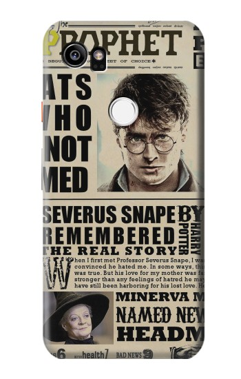 Printed Harry Potter Daily Prophet HTC One X9 Case