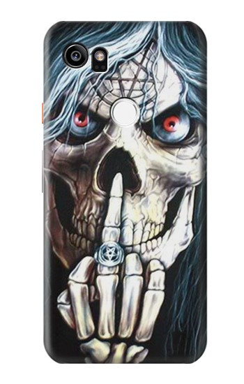 Printed Skull Pentagram HTC One X9 Case