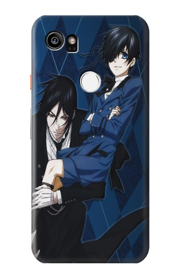 Printed Black Butler Ciel Sebastian HTC One X9 Case