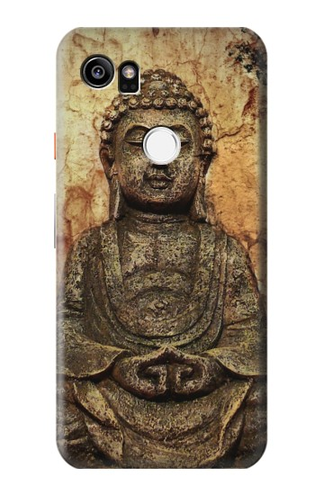 Printed Buddha Rock Carving HTC One X9 Case