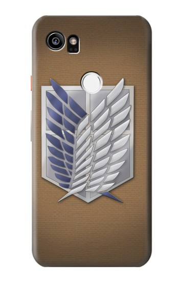 Printed Recon Troops Attack on Titan HTC One X9 Case