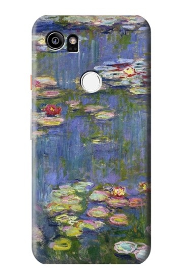 Printed Claude Monet Water Lilies HTC One X9 Case