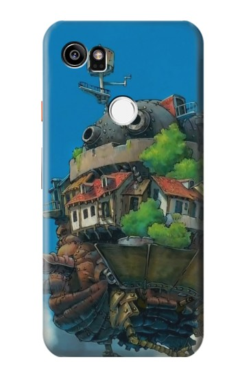 Printed Howl Moving Castle Hauru no Ugoku Shiro HTC One X9 Case