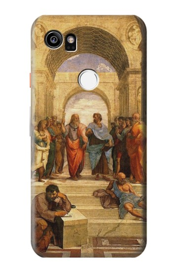 Printed Raphael School of Athens HTC One X9 Case