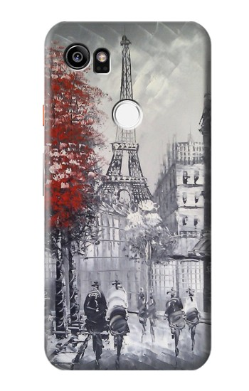Printed Eiffel Painting of Paris HTC One X9 Case