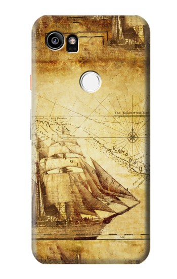 Printed Frigate Old Ship HTC One X9 Case
