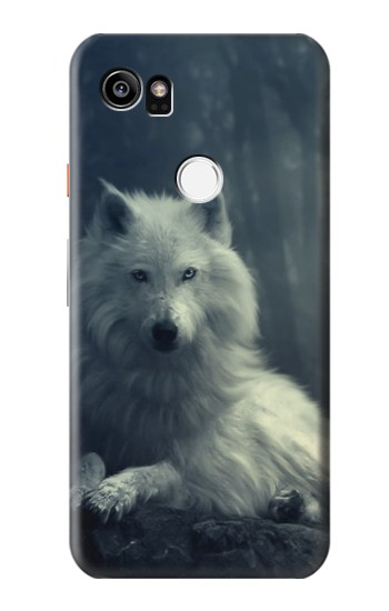 Printed White Wolf HTC One X9 Case