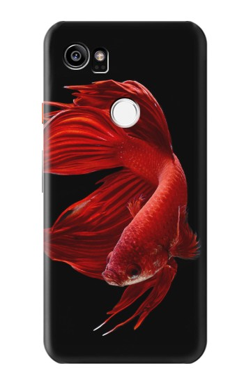 Printed Red Siamese Fighting Fish HTC One X9 Case