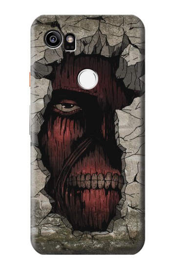 Printed Attack on Titan Zombie Titan in the Wall HTC One X9 Case