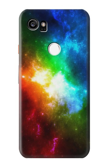 Printed Colorful Rainbow Space Galaxy HTC One X9 Case