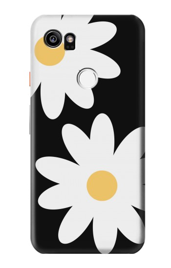 Printed Daisy White Flowers HTC One X9 Case