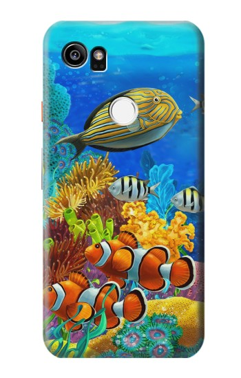 Printed Sea Seabed Fish Corals Underwater Ocean HTC One X9 Case