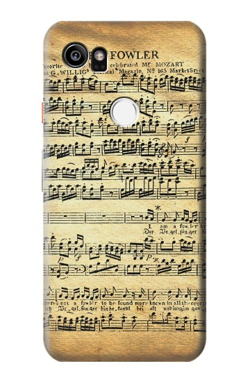 Printed The Fowler Mozart Music Sheet HTC One X9 Case