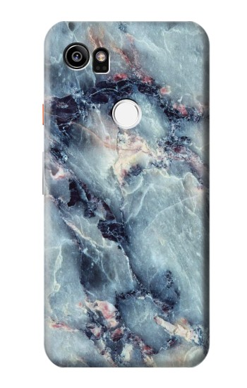 Printed Blue Marble Texture HTC One X9 Case