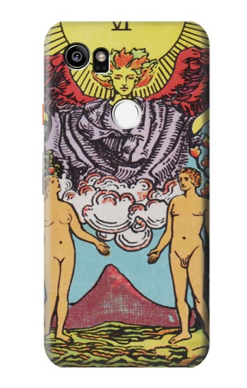 Printed Lovers Tarot Card HTC One X9 Case
