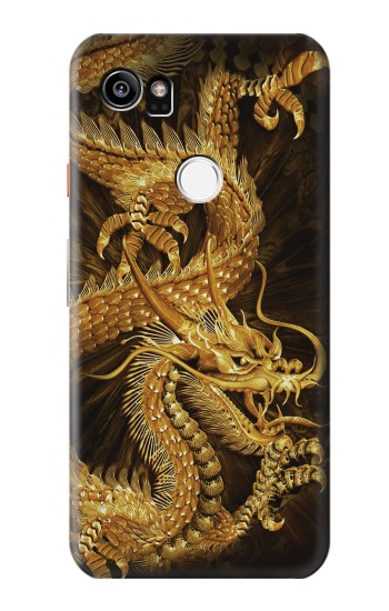 Printed Chinese Gold Dragon Printed HTC One X9 Case