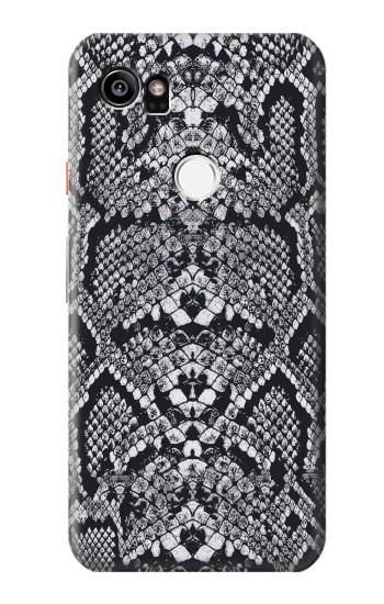 Printed White Rattle Snake Skin HTC One X9 Case
