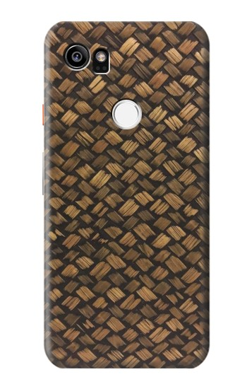 Printed Thai Bamboo Wickerwork HTC One X9 Case