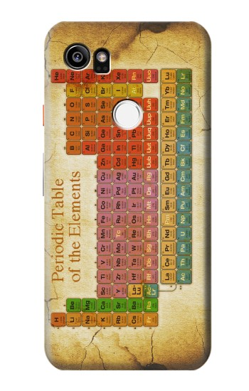 Printed Vintage Periodic Table of Elements HTC One X9 Case