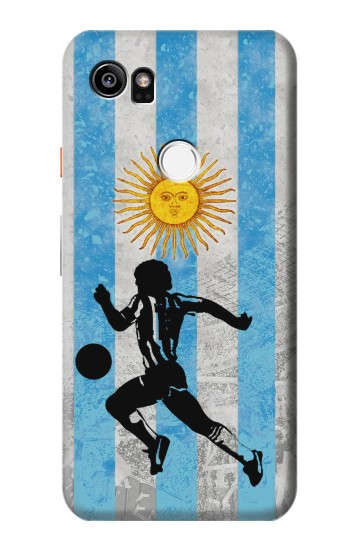 Printed Argentina Football Flag HTC One X9 Case