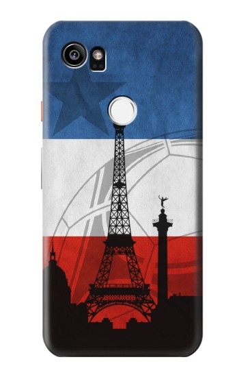 Printed France Football Flag HTC One X9 Case
