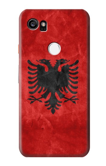 Printed Albania Red Flag HTC One X9 Case