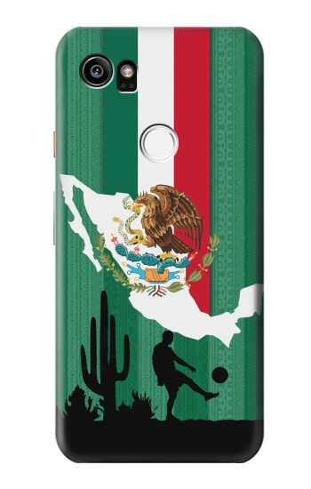 Printed Mexico Football Flag HTC One X9 Case