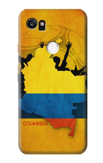 Printed Colombia Football Flag HTC One X9 Case