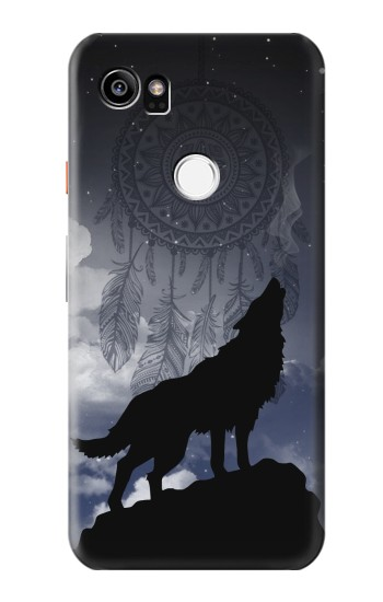 Printed Dream Catcher Wolf Howling HTC One X9 Case