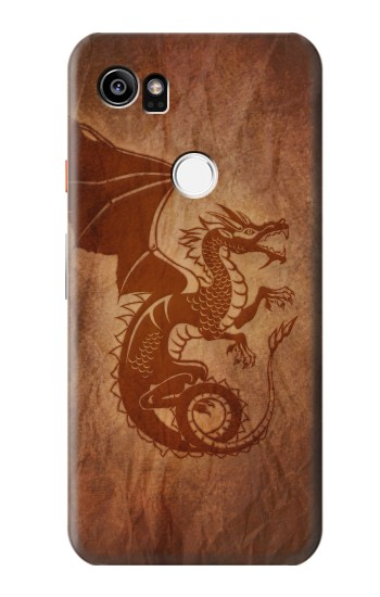 Printed Red Dragon Tattoo HTC One X9 Case