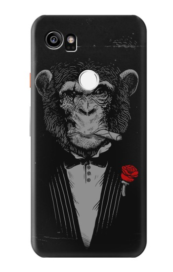 Printed Funny Monkey God Father HTC One X9 Case
