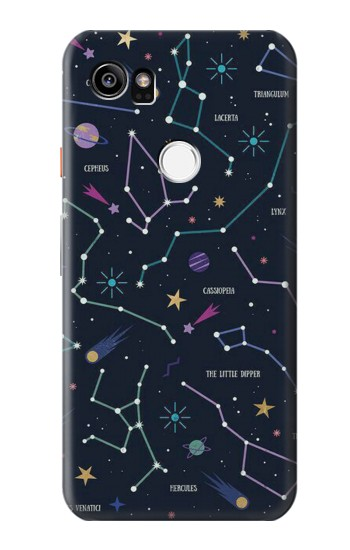 Printed Star Map Zodiac Constellations HTC One X9 Case