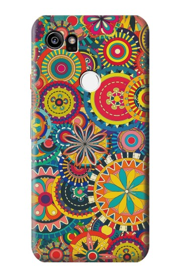 Printed Colorful Pattern HTC One X9 Case