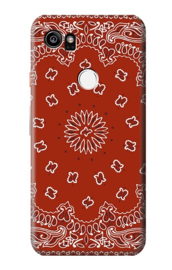 Printed Bandana Red Pattern HTC One X9 Case
