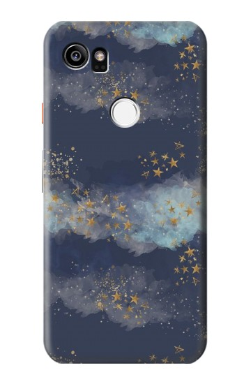Printed Gold Star Sky HTC One X9 Case