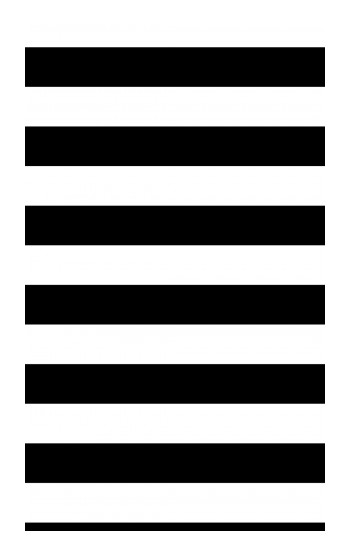 Printed Black and White Striped POP Case