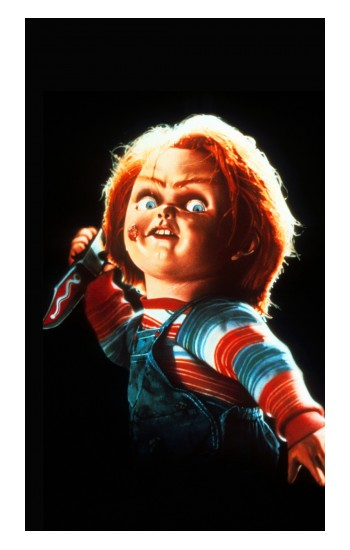 Printed Chucky With Knife POP Case