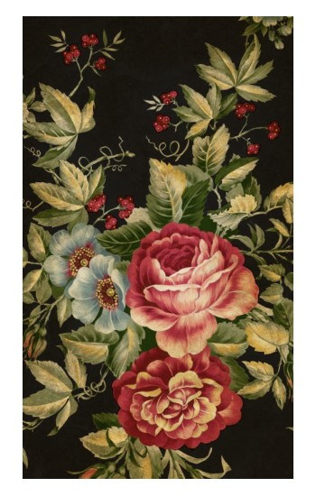 Printed Vintage Antique Roses POP Case