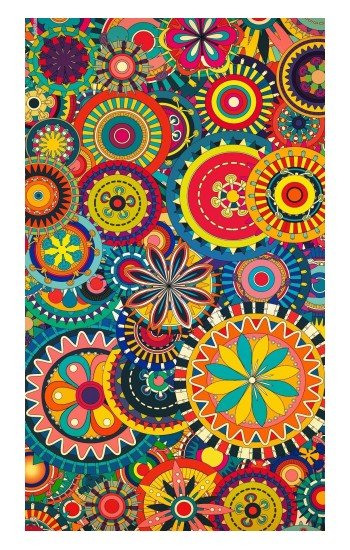 Printed Colorful Pattern POP Case