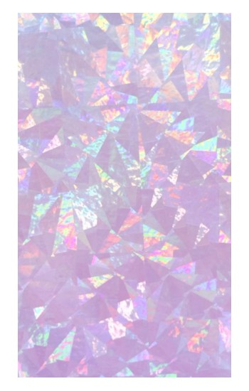 Printed Iridescent Holographic Photo Printed POP Case