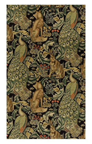 Printed William Morris Forest Velvet POP Case