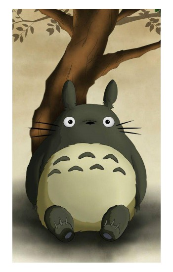 Printed My Neighbor Totoro iPad Pro 12.9 (2020) Case