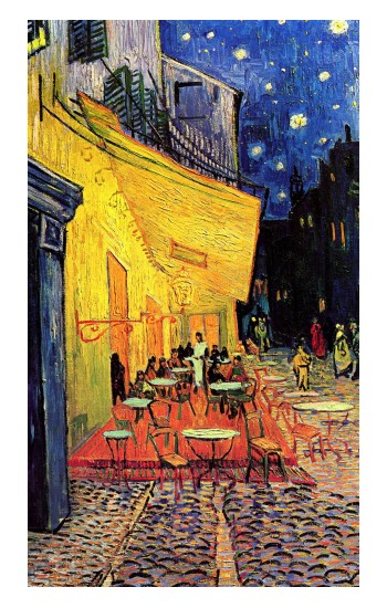 Printed Van Gogh Cafe Terrace iPad Pro 12.9 (2020) Case