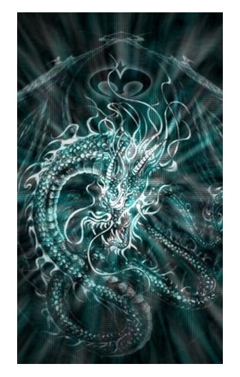 Printed Digital Chinese Dragon iPad Pro 12.9 (2020) Case