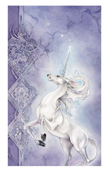 Printed White Horse Unicorn iPad Pro 12.9 (2020) Case
