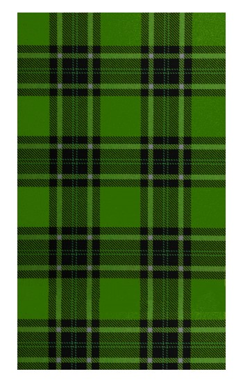 Printed Tartan Green Pattern iPad Pro 12.9 (2020) Case
