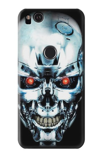 Printed Terminator Robot Skull HTC One S Case
