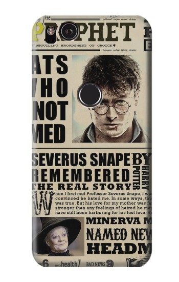 Printed Harry Potter Daily Prophet HTC One S Case