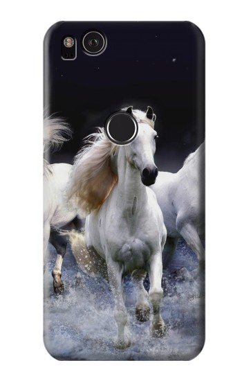Printed White Horse HTC One S Case