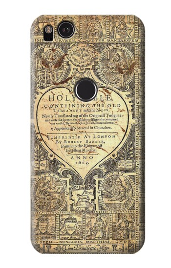 Printed Bible Page HTC One S Case